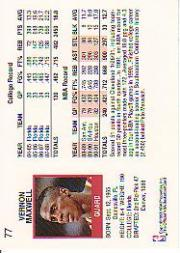 thumbnail 95 - 1991-92 Hoops Basketball (Pick Card From List 1-278) C58 5-21