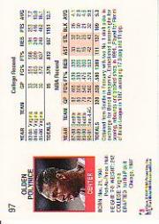thumbnail 129 - 1991-92 Hoops Basketball (Pick Card From List 1-278) C58 5-21
