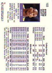 thumbnail 191 - 1991-92 Hoops Basketball Card Pick 1-250