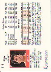 thumbnail 153 - 1991-92 Hoops Basketball (Pick Card From List 1-278) C58 5-21
