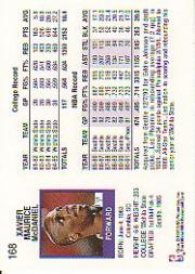 thumbnail 243 - 1991-92 Hoops Basketball (Pick Card From List 1-278) C58 5-21