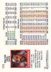 thumbnail 253 - 1991-92 Hoops Basketball (Pick Card From List 1-278) C58 5-21