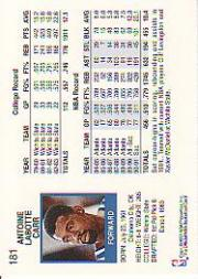 thumbnail 265 - 1991-92 Hoops Basketball (Pick Card From List 1-278) C58 5-21