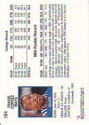 thumbnail 269 - 1991-92 Hoops Basketball (Pick Card From List 1-278) C58 5-21