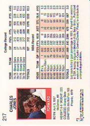 thumbnail 317 - 1991-92 Hoops Basketball (Pick Card From List 1-278) C58 5-21