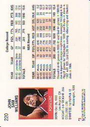 thumbnail 323 - 1991-92 Hoops Basketball (Pick Card From List 1-278) C58 5-21