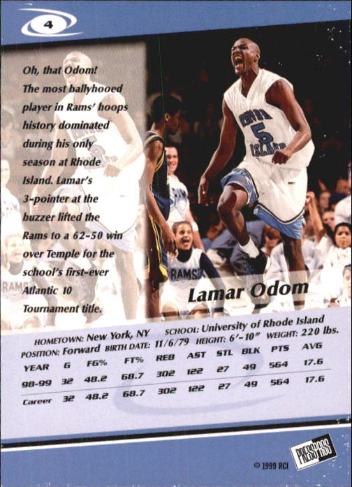 1999-Press-Pass-Basketball-Card-Pick thumbnail 7