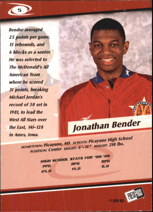 1999-Press-Pass-Basketball-Card-Pick thumbnail 9