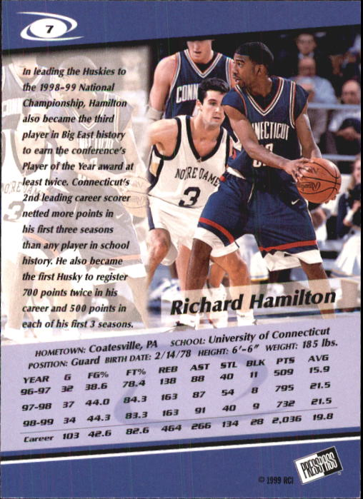 1999-Press-Pass-Basketball-Card-Pick thumbnail 13