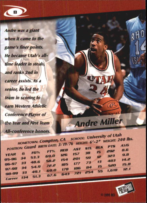 1999-Press-Pass-Basketball-Card-Pick thumbnail 15