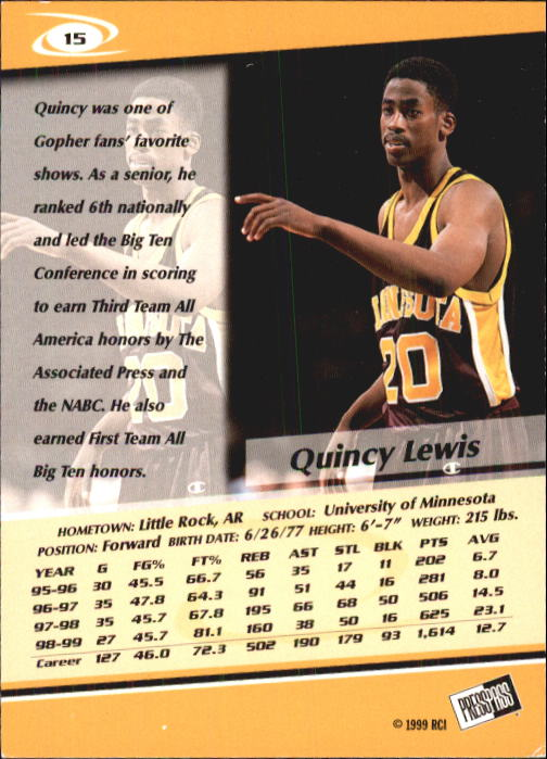 1999-Press-Pass-Basketball-Card-Pick thumbnail 27