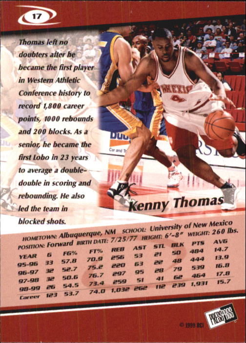 1999-Press-Pass-Basketball-Card-Pick thumbnail 31