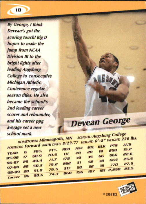 1999-Press-Pass-Basketball-Card-Pick thumbnail 33