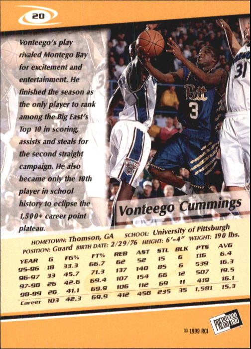 1999-Press-Pass-Basketball-Card-Pick thumbnail 37