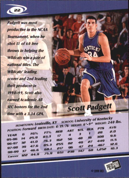 1999-Press-Pass-Basketball-Card-Pick thumbnail 41