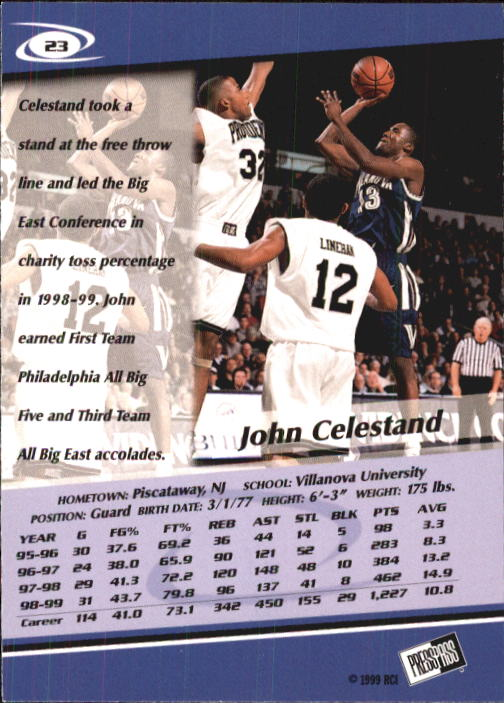 1999-Press-Pass-Basketball-Card-Pick thumbnail 43