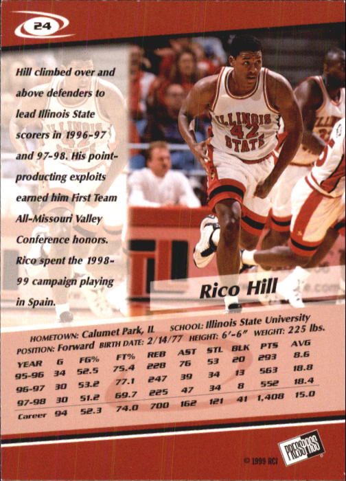 1999-Press-Pass-Basketball-Card-Pick thumbnail 45
