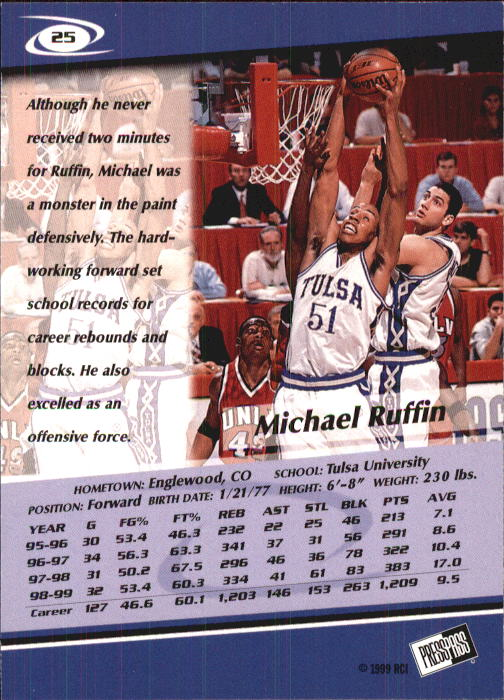 1999-Press-Pass-Basketball-Card-Pick thumbnail 47