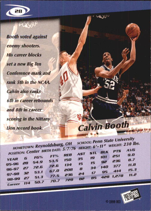 1999-Press-Pass-Basketball-Card-Pick thumbnail 51