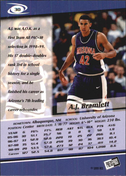 1999-Press-Pass-Basketball-Card-Pick thumbnail 55