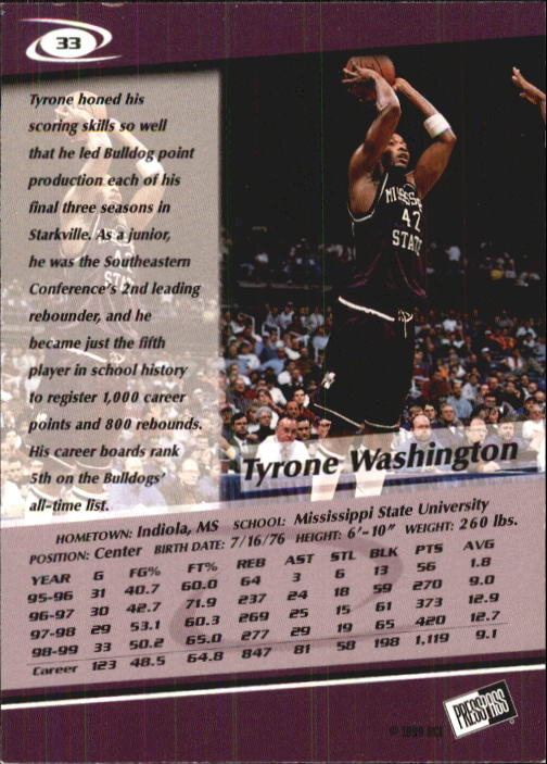 1999-Press-Pass-Basketball-Card-Pick thumbnail 61