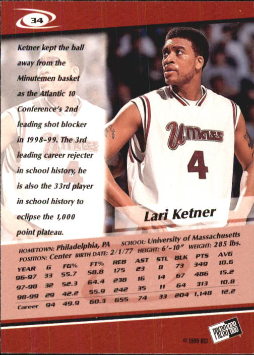1999-Press-Pass-Basketball-Card-Pick thumbnail 63