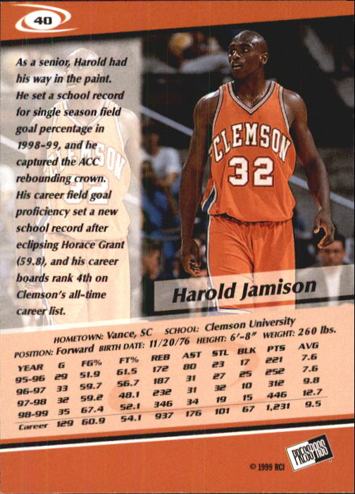 1999-Press-Pass-Basketball-Card-Pick thumbnail 75