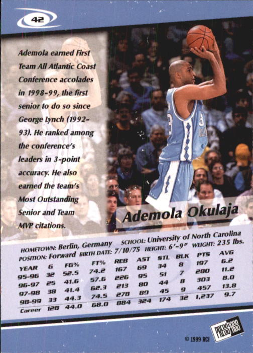 1999-Press-Pass-Basketball-Card-Pick thumbnail 79