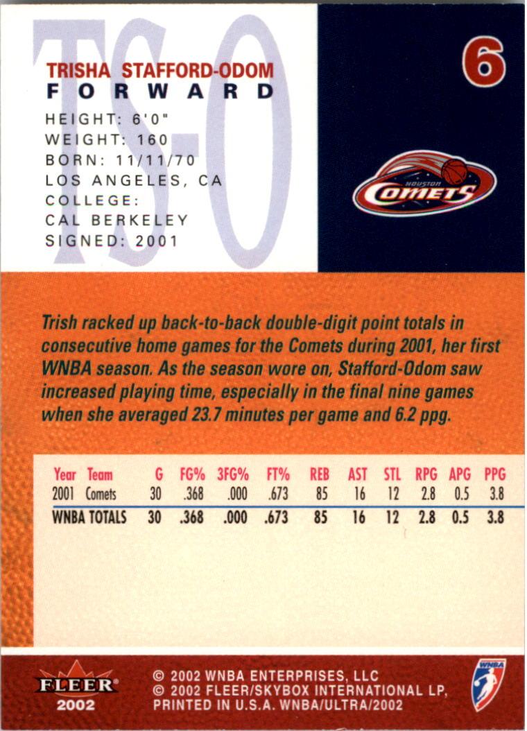 2002-Ultra-Wnba-Basketball-Carte-Choisissez miniature 13
