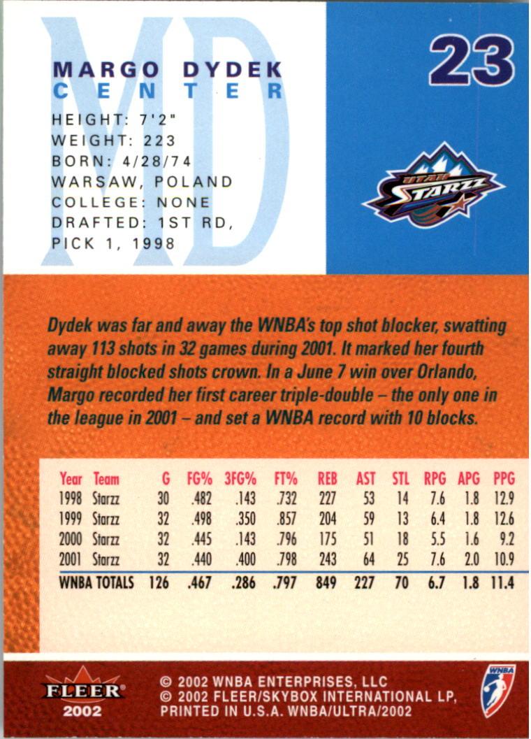 2002-Ultra-Wnba-Basketball-Carte-Choisissez miniature 47