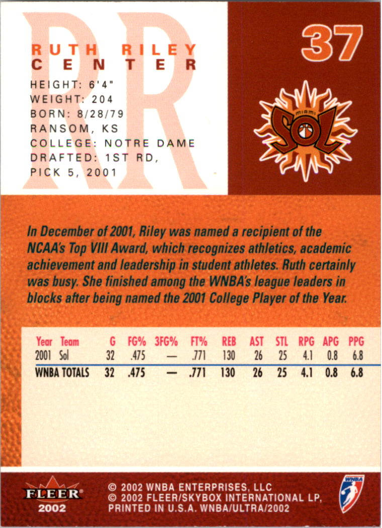 2002-Ultra-Wnba-Basketball-Carte-Choisissez miniature 75