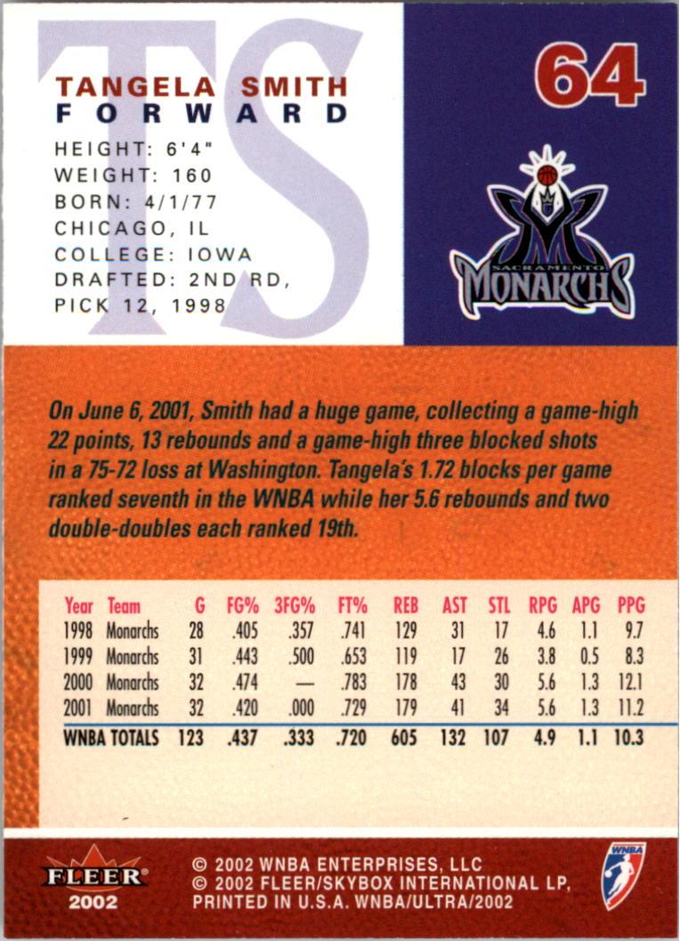 2002-Ultra-Wnba-Basketball-Carte-Choisissez miniature 129