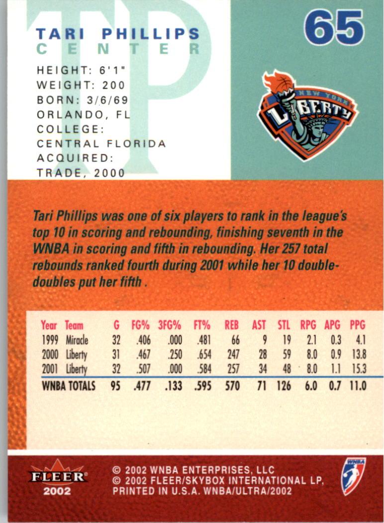 2002-Ultra-Wnba-Basketball-Carte-Choisissez miniature 131