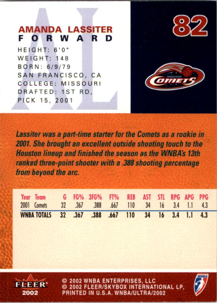 2002-Ultra-Wnba-Basketball-Carte-Choisissez miniature 165