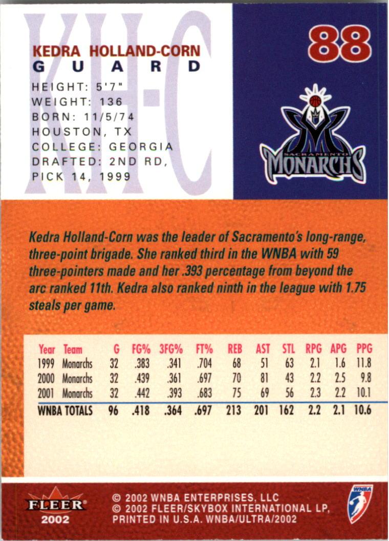 2002-Ultra-Wnba-Basketball-Carte-Choisissez miniature 177
