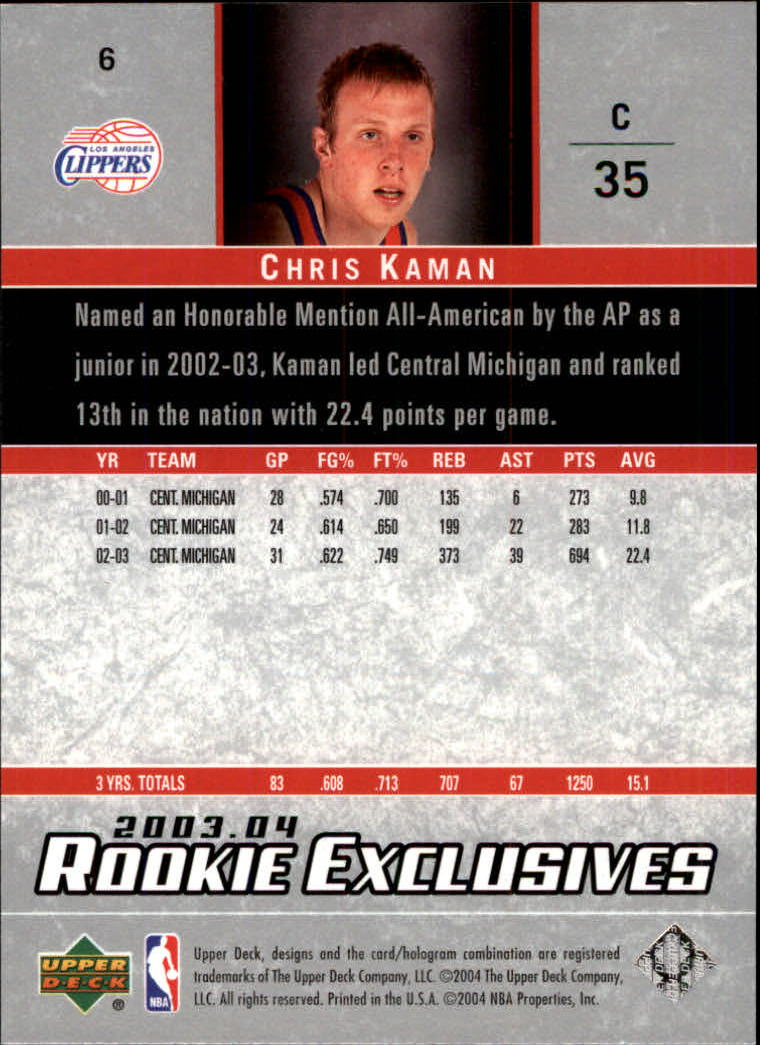 2003-04-Upper-Deck-Rookie-Exclusives-Basketball-Card-Pick thumbnail 8