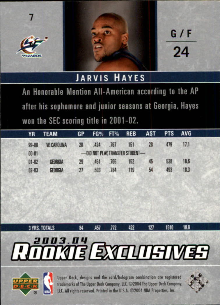 2003-04-Upper-Deck-Rookie-Exclusives-Basketball-Card-Pick thumbnail 10