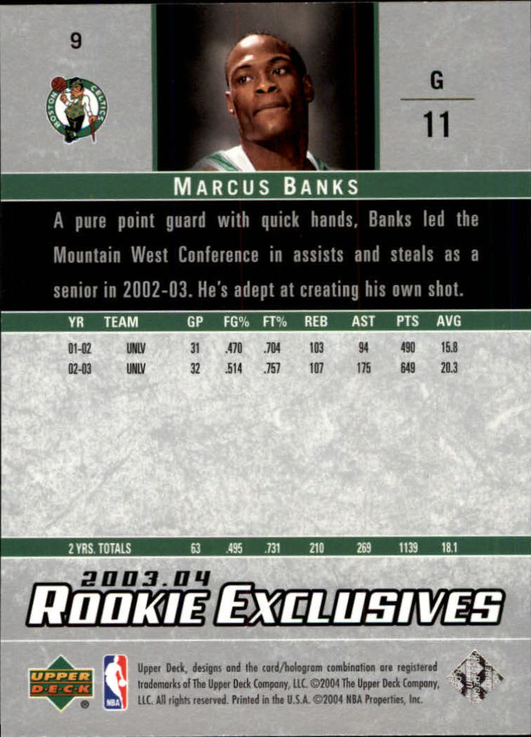 2003-04-Upper-Deck-Rookie-Exclusives-Basketball-Card-Pick thumbnail 14