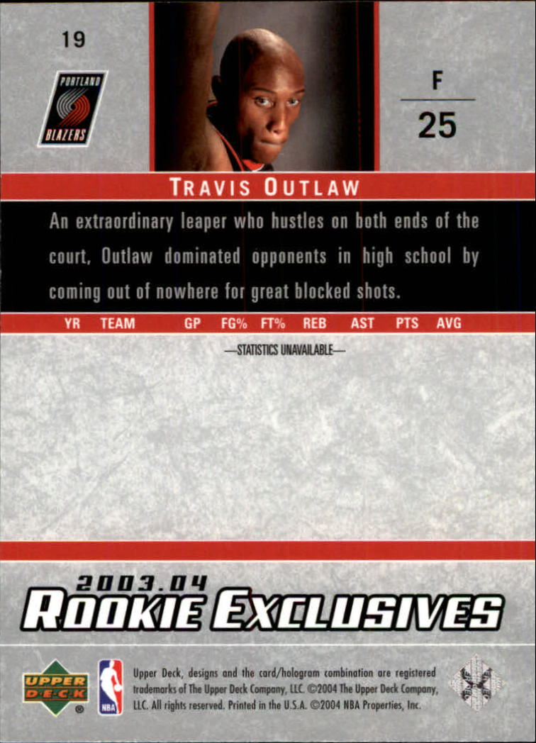2003-04-Upper-Deck-Rookie-Exclusives-Basketball-Card-Pick thumbnail 34