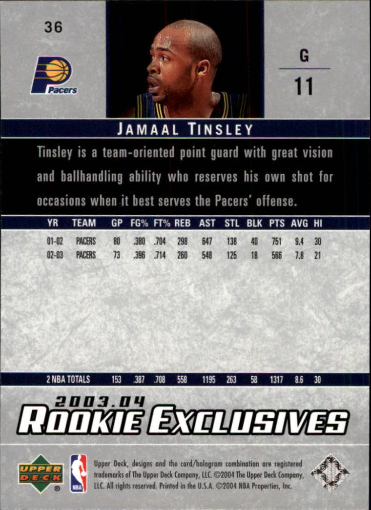 2003-04-Upper-Deck-Rookie-Exclusives-Basketball-Card-Pick thumbnail 66
