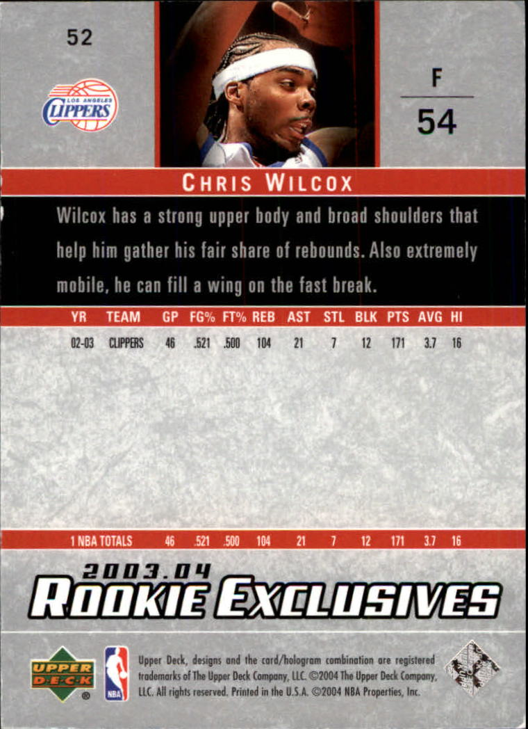 2003-04-Upper-Deck-Rookie-Exclusives-Basketball-Card-Pick thumbnail 96