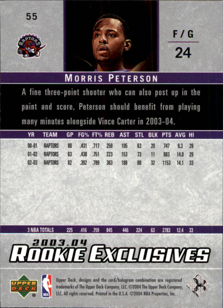 2003-04-Upper-Deck-Rookie-Exclusives-Basketball-Card-Pick thumbnail 102