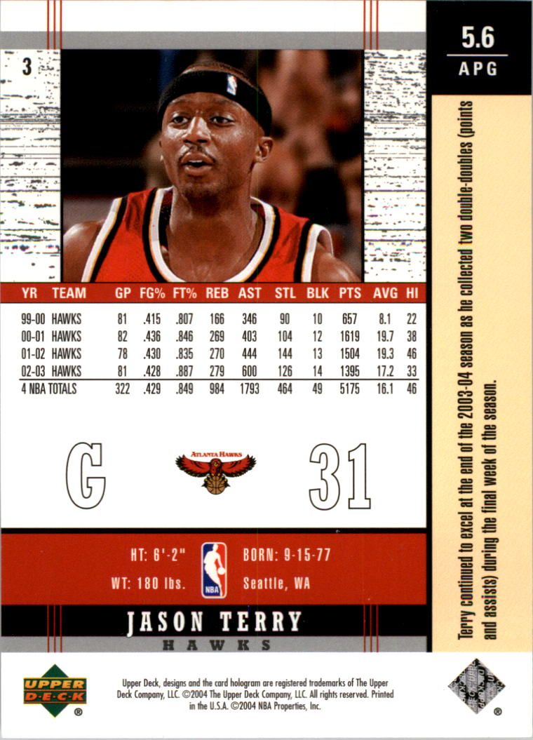2003-04-Upper-Deck-Legends-Basketball-Cards-Pick-From-List thumbnail 7