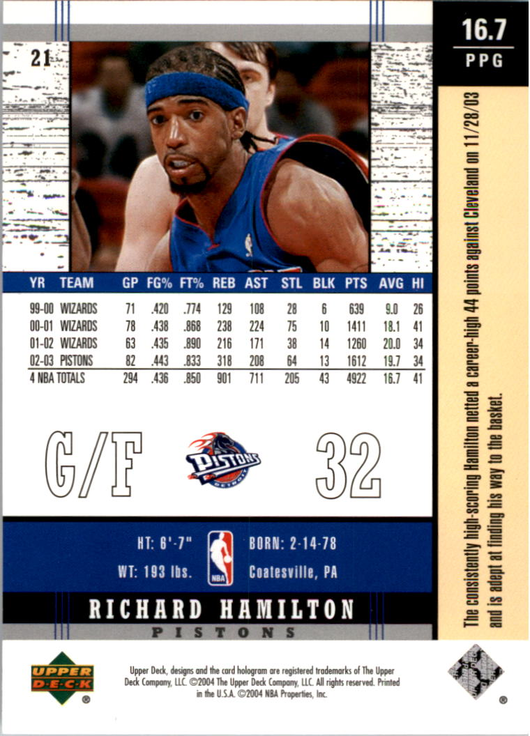 2003-04-Upper-Deck-Legends-Basketball-Cards-Pick-From-List thumbnail 43