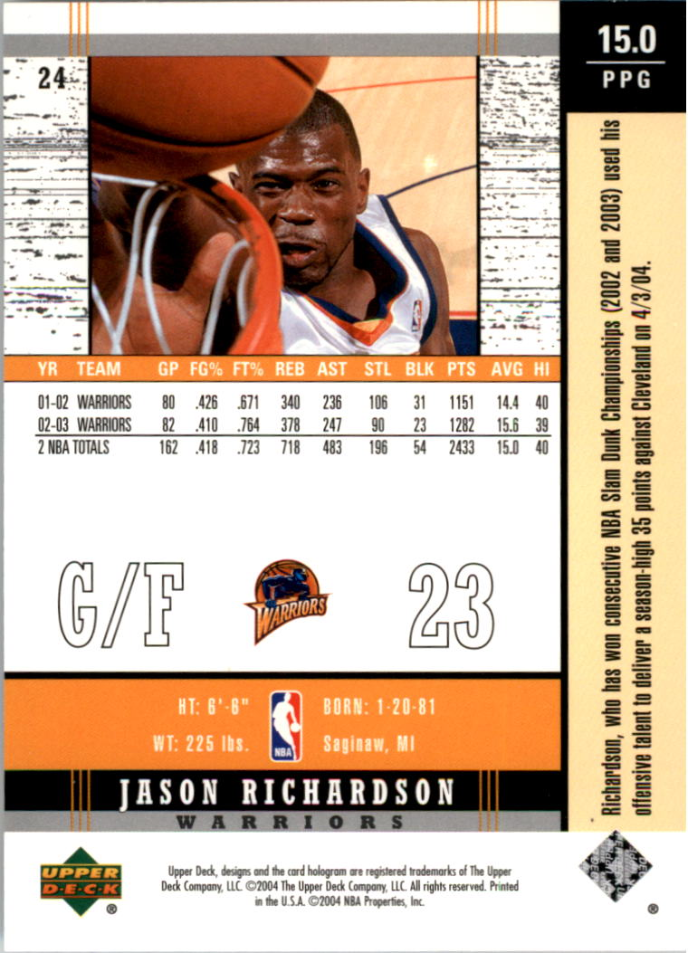 2003-04-Upper-Deck-Legends-Basketball-Cards-Pick-From-List thumbnail 49