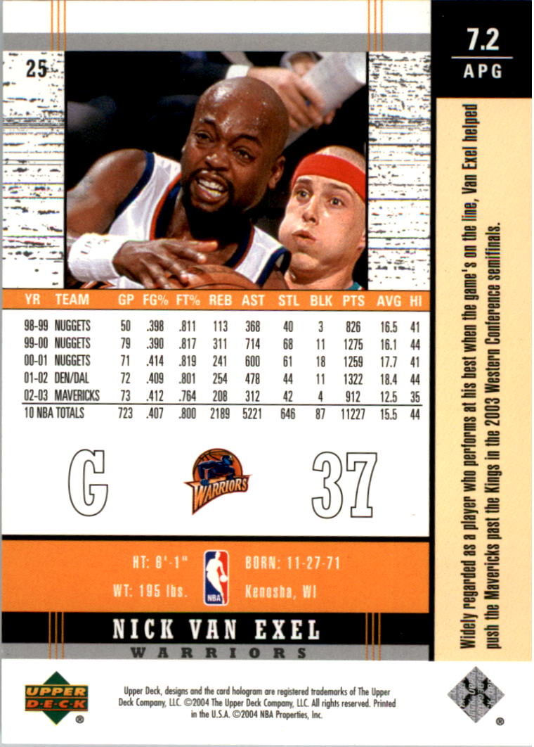 2003-04-Upper-Deck-Legends-Basketball-Cards-Pick-From-List thumbnail 51