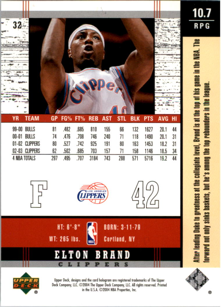 2003-04-Upper-Deck-Legends-Basketball-Cards-Pick-From-List thumbnail 65