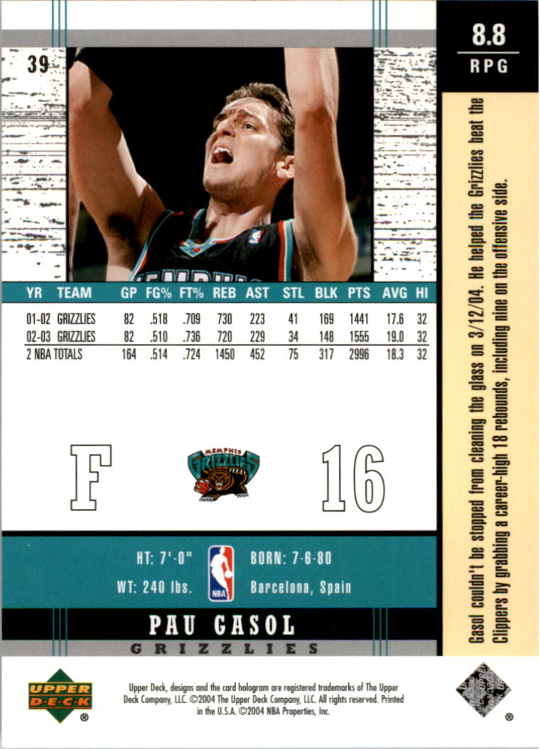 2003-04-Upper-Deck-Legends-Basketball-Cards-Pick-From-List thumbnail 77