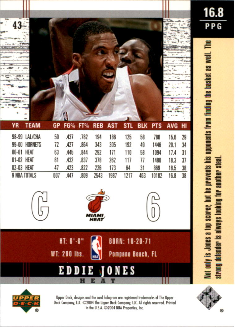 2003-04-Upper-Deck-Legends-Basketball-Cards-Pick-From-List thumbnail 85
