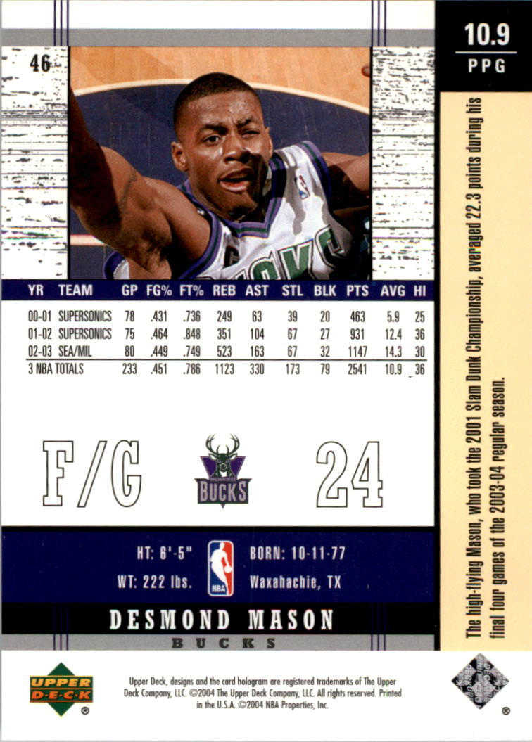 2003-04-Upper-Deck-Legends-Basketball-Cards-Pick-From-List thumbnail 91